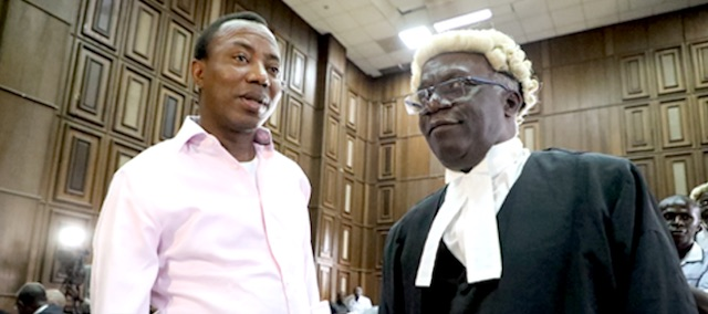 Sowore's Re-Arrest Is Extremely Embarrassing, Never Happened In Nigeria's History - Falana 1