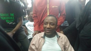 """DSS Wants Me Dead, They Vowed I Won't Walk Out Of Detention Alive"" – Sowore [Video] 3"