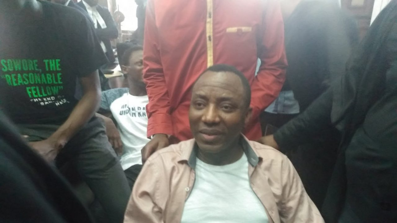 """DSS Wants Me Dead, They Vowed I Won't Walk Out Of Detention Alive"" – Sowore [Video] 1"