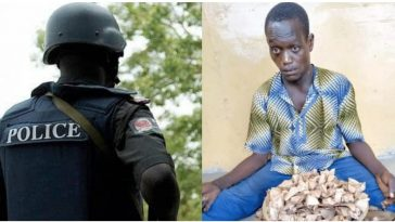 Police Arrests Physically-Challenged Man Who Is A 'Cultist Leader And Drug Dealer' In Ogun 2