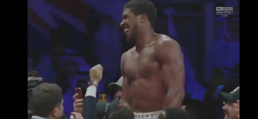 Anthony Joshua's Speech After Defeating Andy Ruiz To Reclaim World Heavyweight Champion 3