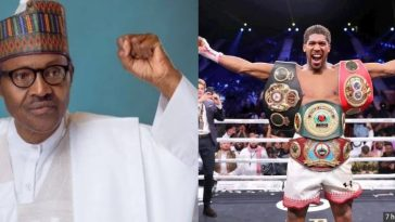 Buhari Reveals Lessons Learnt From Anthony Joshua's Comeback Victory Against Ruiz Jr 6