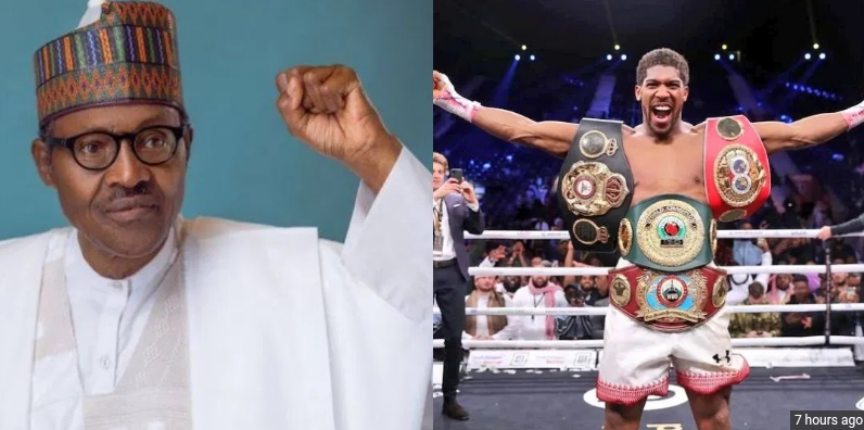 Buhari Reveals Lessons Learnt From Anthony Joshua's Comeback Victory Against Ruiz Jr 1