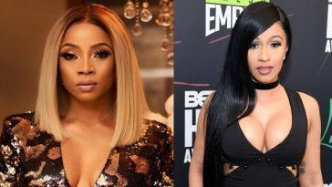 Outrage As Toke Makinwa Slams Nigerians Who're Praising Cardi B For Being 'So Real' 1