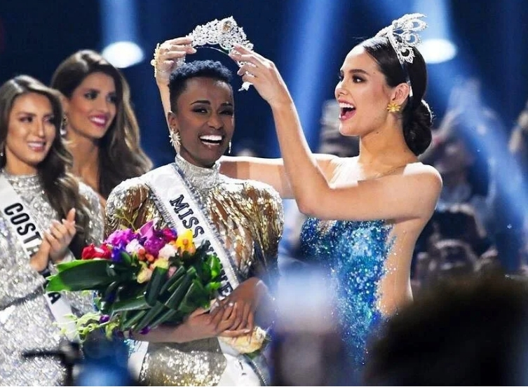 Watch The Reaction Of Miss Nigeria As South Africa's Zozibini Tunzi Wins Miss Universe 2019 [Video] 1