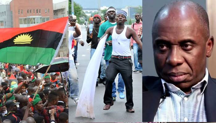 IPOB Must Apologise To Amaechi Within 7days Or Risk Destruction Of Igbo Properties - N'Delta Youths 1