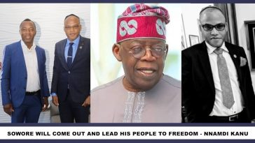 Tinubu's Reign Is Over, Sowore Is The New Yoruba Leader – Nnamdi Kanu 2