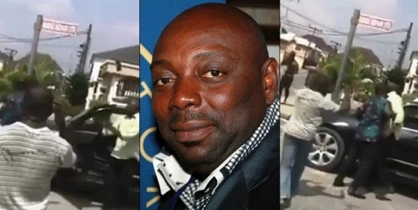 Actor, Segun Arinze Allegedly Assaults Houseboy For Using His Car Without Permission [Video] 1