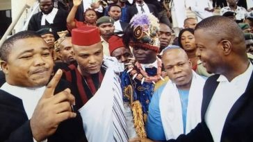 Nnamdi Kanu's Lawyer Seeks Restoration Of His Freedom After Police Declared Him Wanted 5