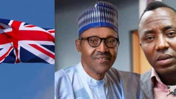 """Respect The Rule Of Law"" - UK Government Tells President Buhari Over Sowore's Detention 4"