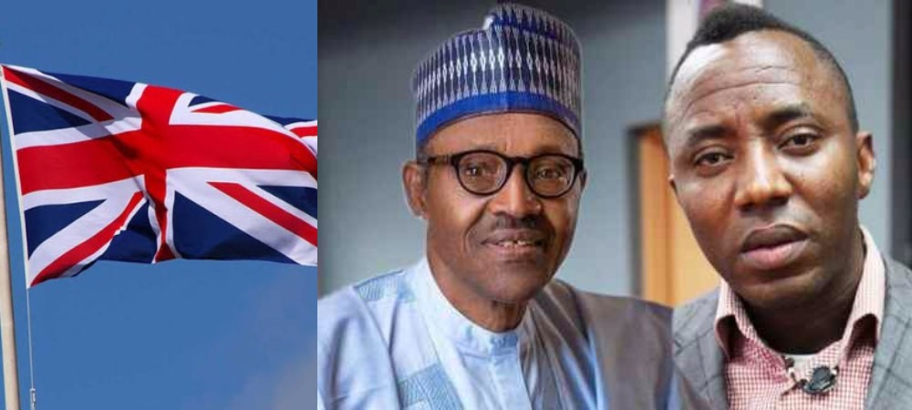 """Respect The Rule Of Law"" - UK Government Tells President Buhari Over Sowore's Detention 1"