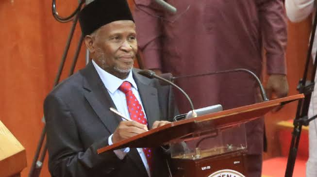 """Sharia Law Should Be Taught In Nigerian Schools With Arabic Language"" — CJN Tanko Muhammad 1"