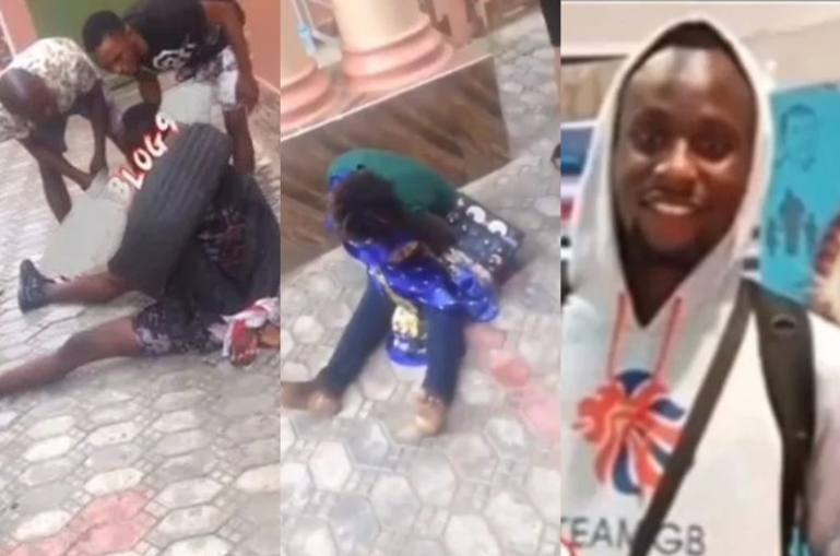Confusion As Lady Runs Mad After Sleeping Overnight With A Young Man In Lagos [Video] 1
