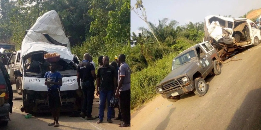 18 Passengers Reportedly Dies As Peace Mass Transit Bus Crashes Along Benin-Ore Road 1