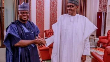"Major General: ""Buhari Is Nigeria's Most Democratic President"" – Kogi Governor, Yahaya Bello 1"