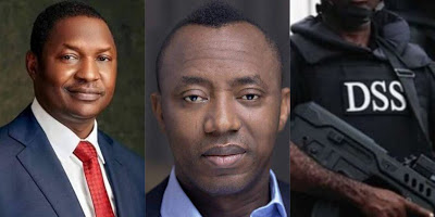 Nigeria's Attorney-General, Abubakar Malami Takes Over Sowore's Trial From DSS 1