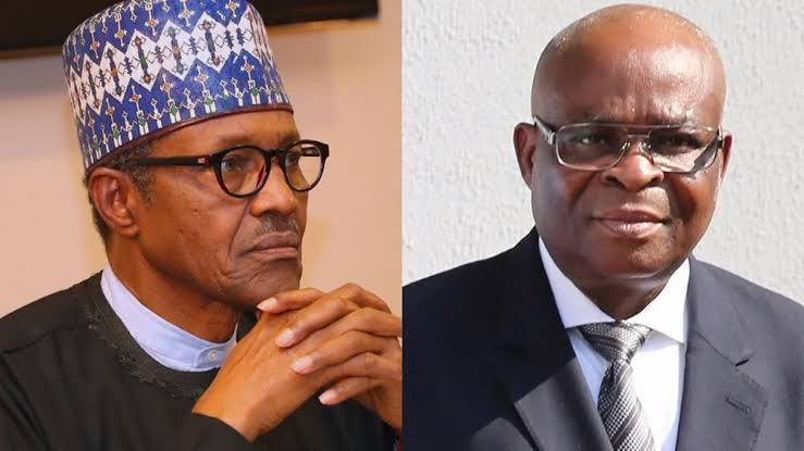 President Buhari Reportedly Bars Walter Onnoghen From Travelling, Seizes His Passport 1