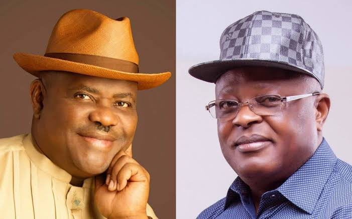 Two PDP Governors, Wike And Umahi Almost 'Exchange Blows' Over President Buhari 1