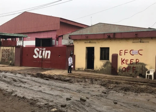 EFCC Marks Sun Newspaper, Slok For Seizure After Jailing Orji Uzor Kalu For N7bn Fraud 2