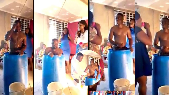 Pastor Baths In Church, Asks His Congregation To Drink The Bath Water For Blessings [Video] 1