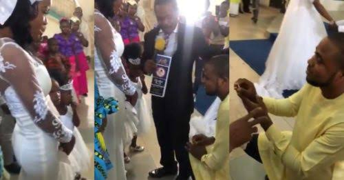 """I Am Not Aware"" - Pastor Says As He Stops Man From Proposing To His Daughter [Video] 1"