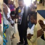 """I Am Not Aware"" - Pastor Says As He Stops Man From Proposing To His Daughter [Video] 27"