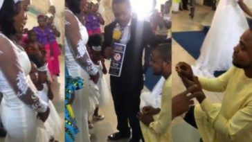 """I Am Not Aware"" - Pastor Says As He Stops Man From Proposing To His Daughter [Video] 5"