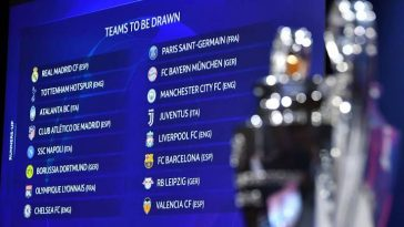 UEFA Champions League Round Of 16 Draw: Find Out Who Your Favorite Team Is Playing 3