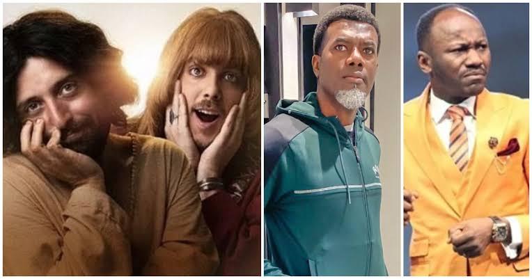 Apostle Suleman, Reno Omokri Reacts To Netflix Movie Which Portrayed Jesus As 'Gay' 1