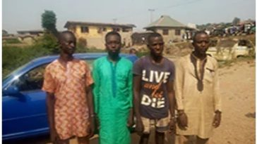 4 Kidnappers Arrested For Killing 7-Year-Old Boy After Collecting N300k Ransom From Parent 2