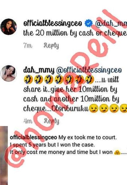 Tacha Drags Blessing Okoro To Court, Demands N20 Million For Defamation Of Character 5