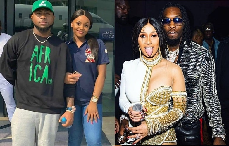 """Chioma Is Better Than Your Entire Generation"" — Davido Blasts Cardi B's Husband, Offset 1"