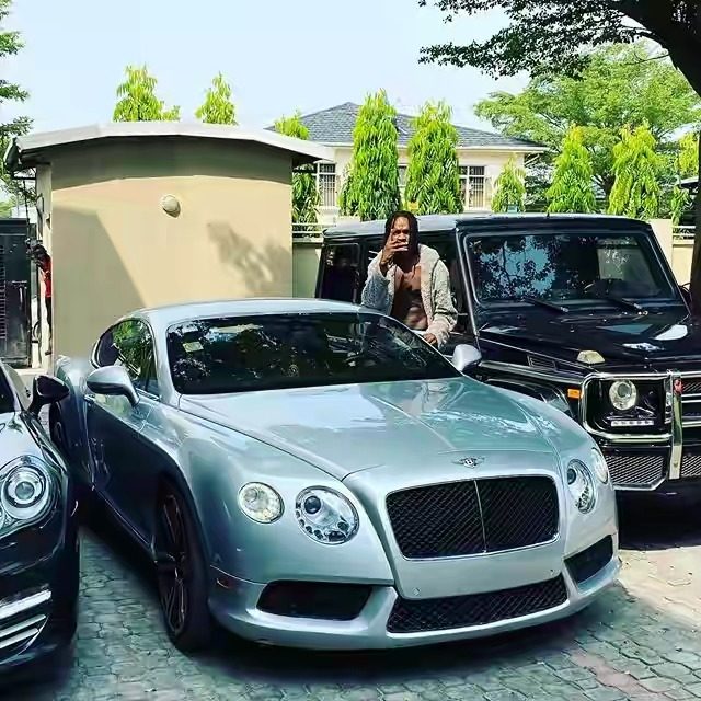 Naira Marley Shows Off His Fleet Of Cars After Being Accused Of Stealing Toyota Camry 1