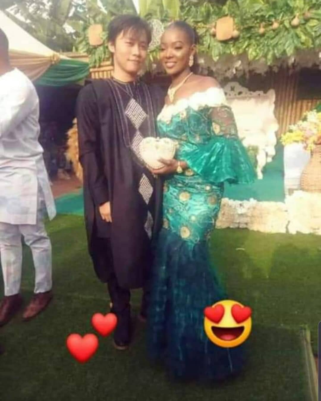 """Nigerian Lady, Ngozi Marries Her Chinese Lover """"Long Ting"""" In Anambra State [Photos] 2"""