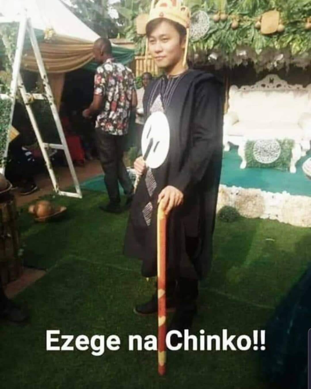 """Nigerian Lady, Ngozi Marries Her Chinese Lover """"Long Ting"""" In Anambra State [Photos] 3"""