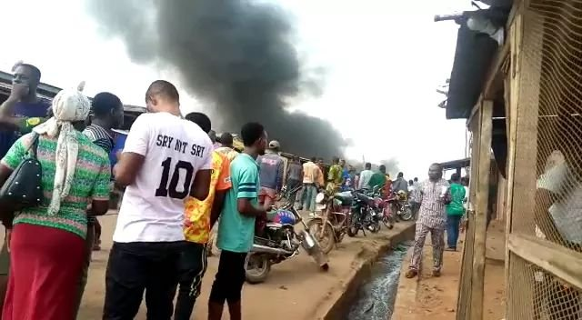 Sotitobire Miracle Center Burnt down as corpse of missing baby is allegedly exhumed at Sotitobire church Akure 5