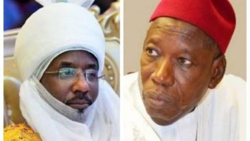 Breaking News: Emir Of Kano, Muhammadu Sanusi Dethroned For Disrespecting Governor Ganduje 2