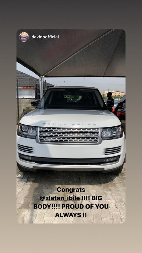 Zlatan Ibile Buys Himself A Range Rover SUV Worth N33 Million As Birthday Gift [Photo] 2