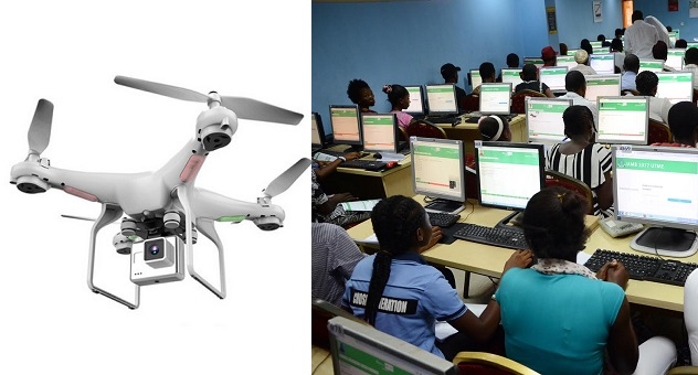JAMB Introduces Use Of Drones And CCTV Camera To Monitor Centres For 2020 UTME 1