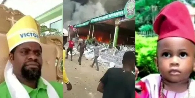 Pastor Babatunde Whose Church Was Burnt Over Missing Boy, Sues DSS, Demands N100 Million 1