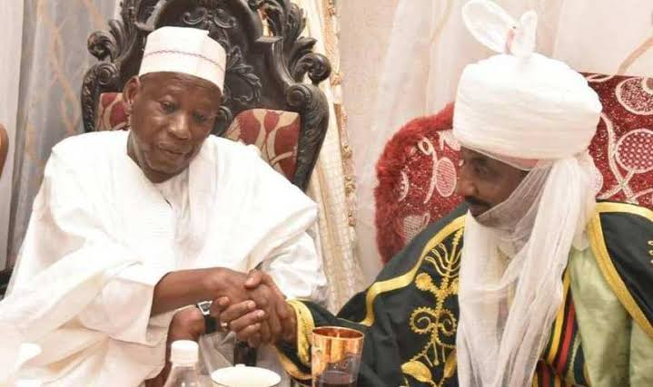 Ganduje Gives Sanusi 2 Days To 'Accept Or Reject' Appointment As Head Of Kano Chiefs' Council 1