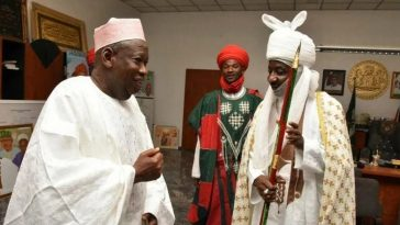 Emir Sanusi Finally Accepts Governor Ganduje's Appointment As Head Of Kano Chiefs 5