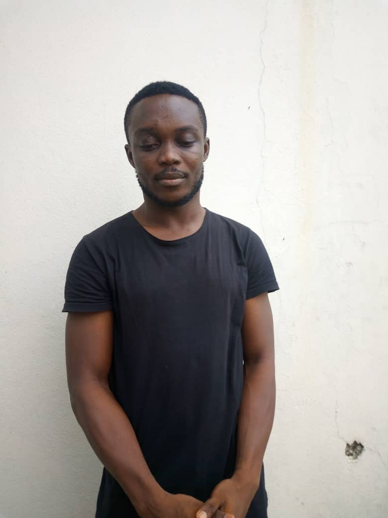 EFCC Arrest Yahoo Boy Onyebuchi Nwalozie Julius For Impersonating CBN Governor 2