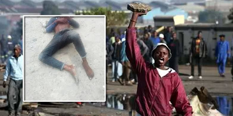 Man Lynched To Death For Stealing And Raping A Girl On Christmas Day In Cross Rivers 1