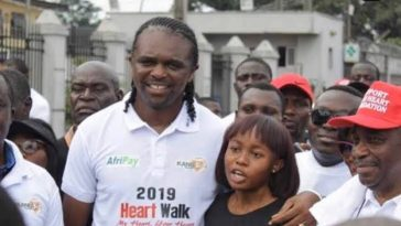 Super Eagles Legend, Kanu Nwankwo Loses 21-Year-Old 'Daughter' To Malaria 1