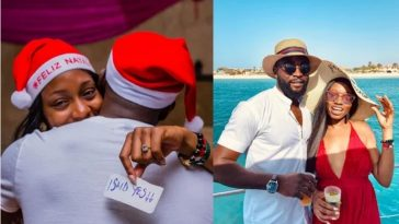 BBNaija 2019 Couple, Khafi And Gedoni Engages On Christmas Day In Cape Verde 2