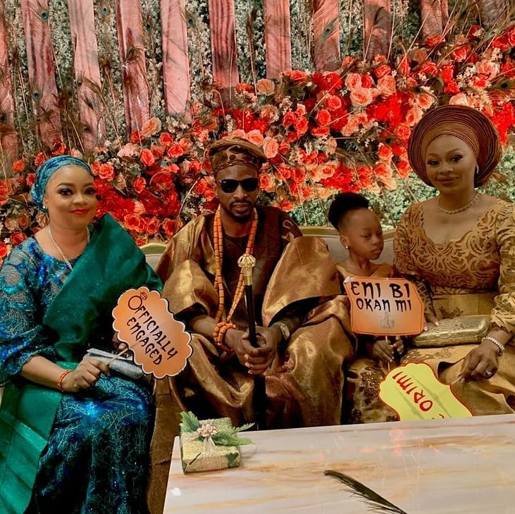 Nigerian Singer, 9ice Marries His Babymama As 3rd Wife, Olasunkanmi Ajala [Photos] 1