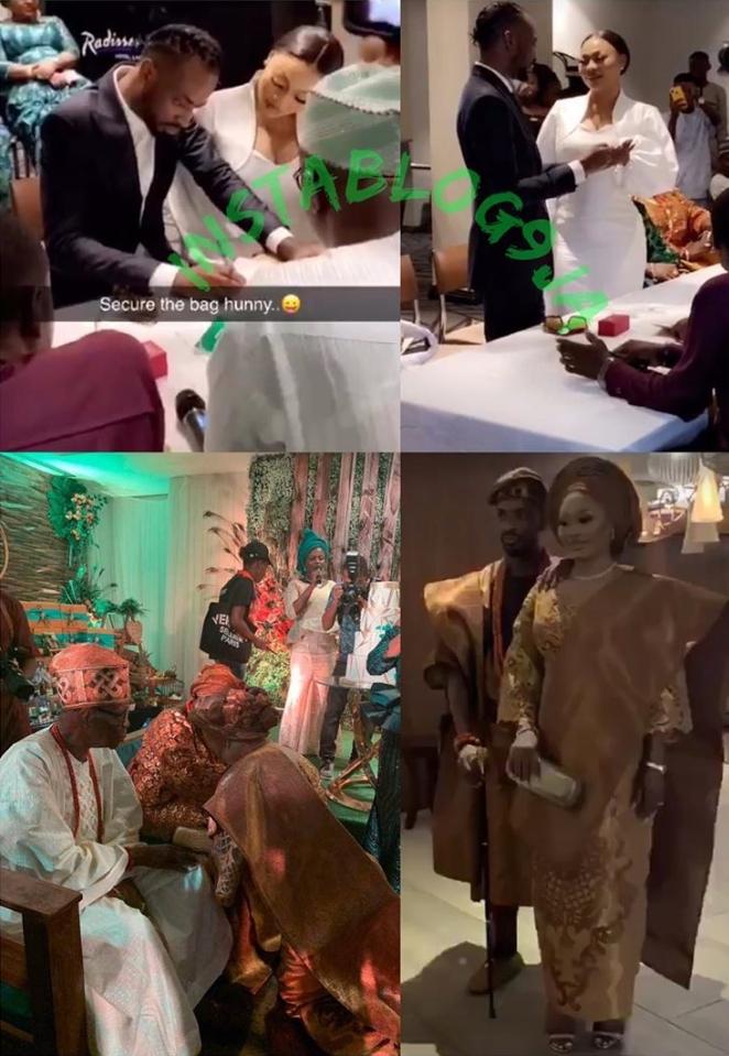 Nigerian Singer, 9ice Marries His Babymama As 3rd Wife, Olasunkanmi Ajala [Photos] 2