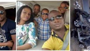Nigerian Man, His Wife And 3 Children Dies On Tragic Road Accident On Christmas Day 9