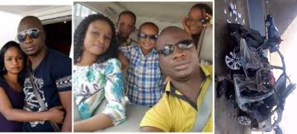 Nigerian Man, His Wife And 3 Children Dies On Tragic Road Accident On Christmas Day 1